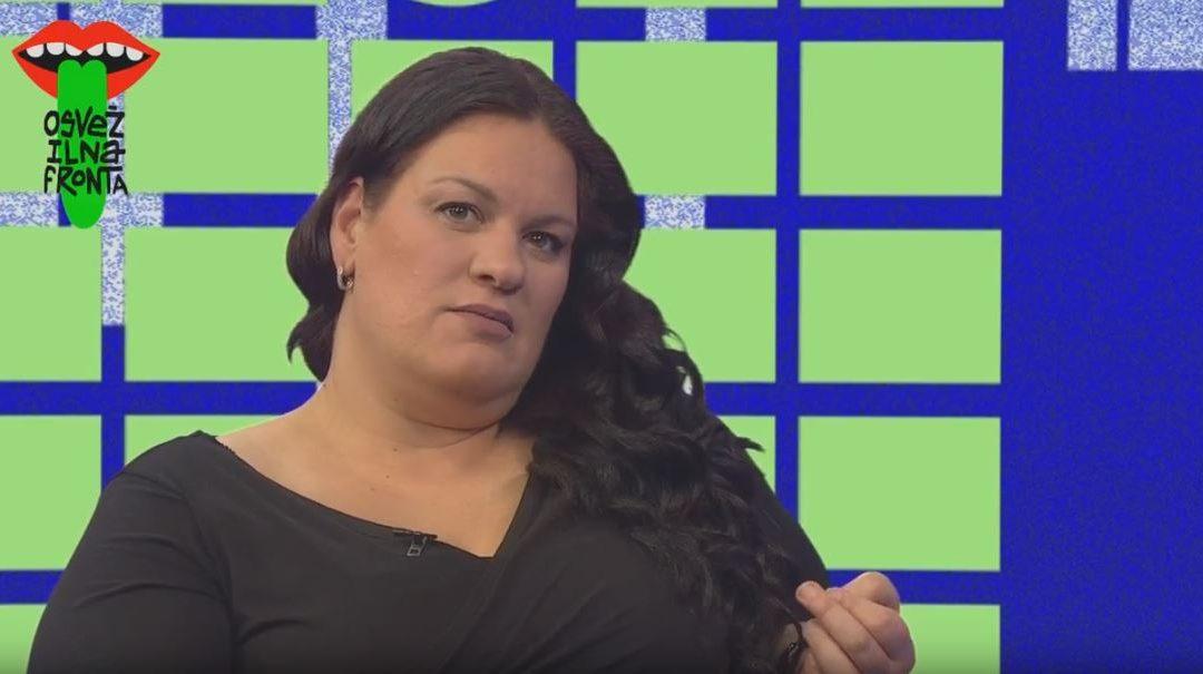 Romana Marolt – intervju na Osvežilni fronti